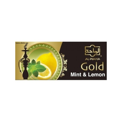 Al Waha Gold Mint-Lemon 200g