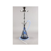 KAYA PNX660 Shisha FROSTED DEEP WATER 4-Schlauch, Silber