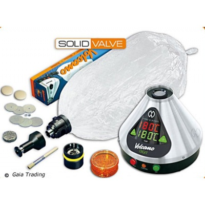 Volcano Digital mit Solid Valve Set